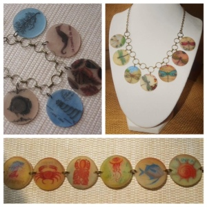 Charm Bracelets & Necklaces make a great gift!