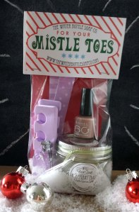 Mistle Toes makes a great holiday gift!