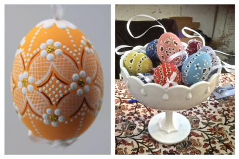 Decorated Czeck Eggs