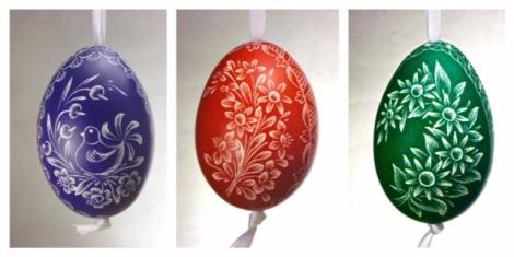 Painted Czech Eggs