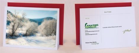 Winter Notecard