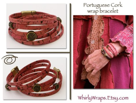Cork Whirly Wrap