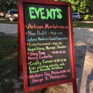 So many things to do every Saturday at the Wilmington Island Farmers Market!