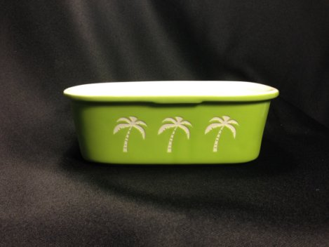 Etched Serving Dish