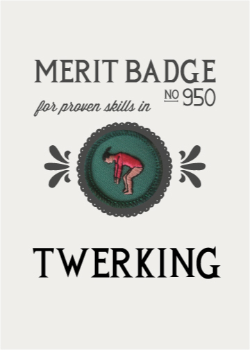 Merit Bade in Twerking