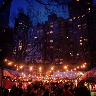 Columbus Circle Holiday Market, New York City