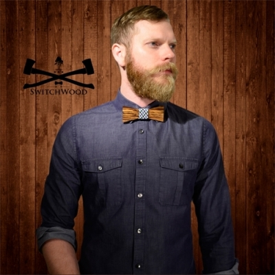Wooden Bowties from Swtichwood