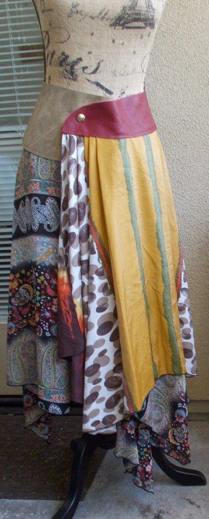 Boho chic skirt by Elaine's Designs