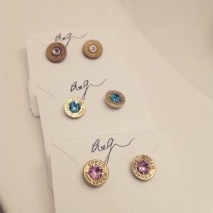 Very cool bullet earrings!