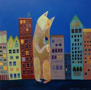 New York Artist Elaine Thompson
